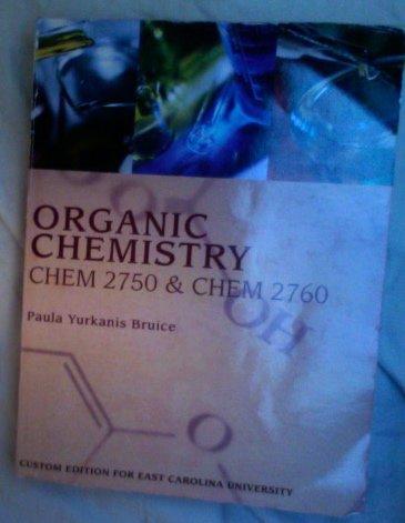 Price comparison product image Organic Chemistry CHEM 2750 & CHEM 2760 (ECU Custom Textbooks)
