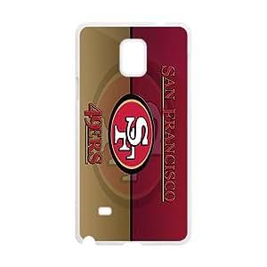 QQQO san francisco 49ers logo Hot Sale Phone Case for Samsung Note 4