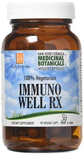 (L A NATURALS Immuno Well Rx Raw Formula 90 Vgc, 0.02 Pound)