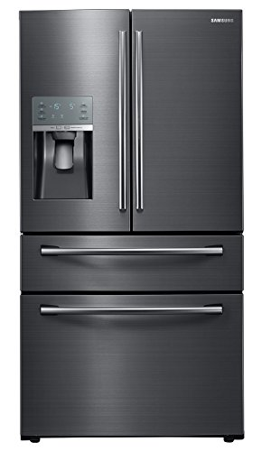 "Price comparison product image Samsung Appliance RF28JBEDBSG 36"" Energy Star Rated Food Showcase French Door Refrigerator in Black Stainless Steel"