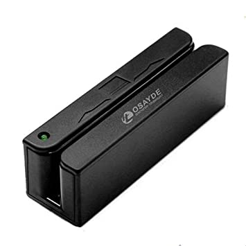 Osayde MSR90D crédito Magstrip Lector de Tarjetas magnéticas de recopiladores de Datos USB Banda Magnética Tarjeta 3 Pistas POS Mini mag Hi-Co Swiper ...