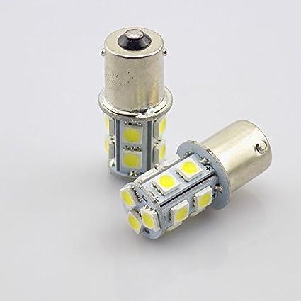 Unipower TMT LEDS(TM) 2 X BOMBILLA LED BA15S 1156 P21W 13 LEDS SMD