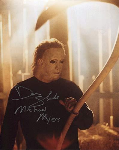 DON SHANKS as Michael Myers – Halloween 5 GENUINE AUTOGRAPH