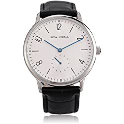 Seagull D819.612 Ultra Thin 8mm Hand Wind Men's Watch Small Second Hand
