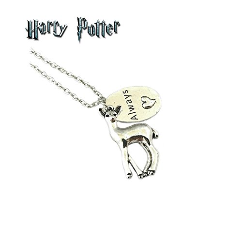 Harry Potter Always Necklace Pendant Deer / Doe Books Movies Cosplay by Athena by Athena Brand (Image #1)