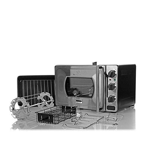 Wolfgang Puck Pressure Oven Rotisserie 29-Liter Countertop Oven Bundle Pack