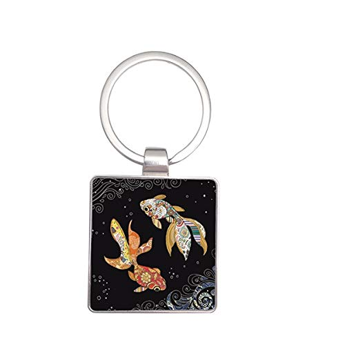 Porte CLES Bug Art Jewels Poisson KIUB