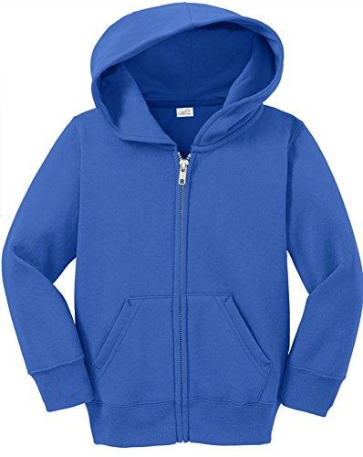 Joe's USA Infant Full Zip Hoodies - Soft and Cozy Hooded Sweatshirts. 6M,12M,18M (Blue Infant Pullover Hoody)