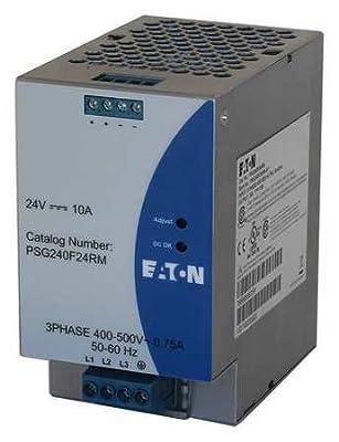 AC/DC DIN Rail Power Supply (PSU), Three Phase, 1 Output, 240 W, 24 VDC, 10 A