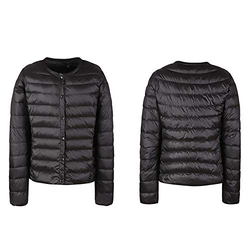Hiking Black Jacket Coat Down Sleeve Women Packable Long Winter Camping StarTreene Lightweight Outdoor Puffer fOtwxqE7Y