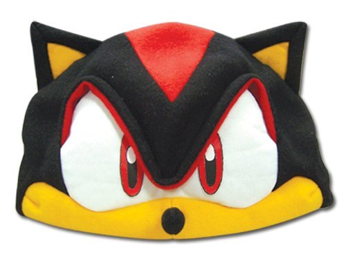 Sonic X: Cosplay Fleece Cap (Shadow From Sonic The Hedgehog Costume)