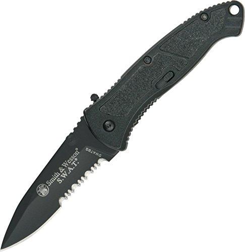 SWATBS-BRK Small black Swat Linerlock (Opening Assisted Knife Swat)