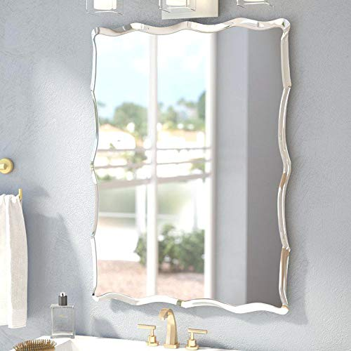 Quality Glass Frameless Decorative Wall Mirror for Home Decor