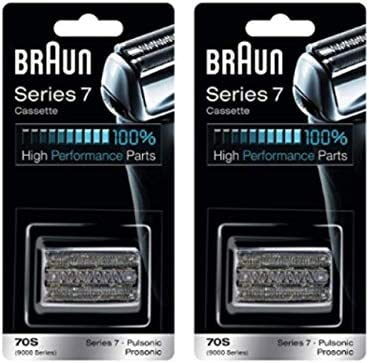 Braun 9000FC Pulsonic Foil Cutter, 2 Pack