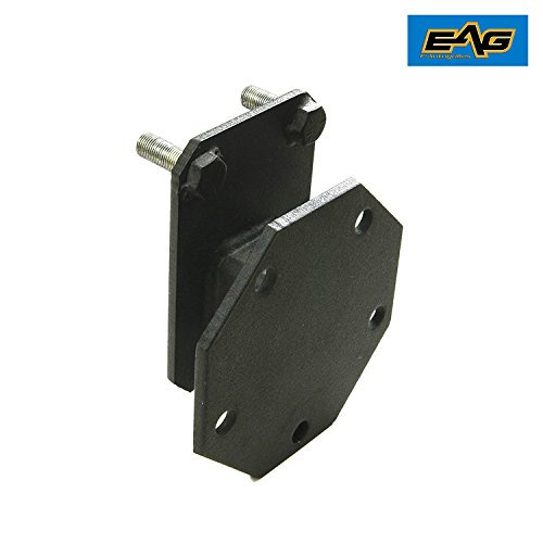 E-Autogrilles Spare Tire Relocation Mounting Bracket for 07-17 Jeep Wrangler JK (51-0445)