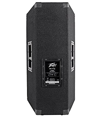 "(2) Peavey PV112 12"" 1600w Live Sound Speakers+2) Stands+2) Cables+Carry Case by Peavey"