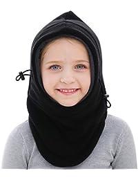 GSPY Kids Balaclava Ski Face Mask, Fleece Warm Winter Hat for Boys and Girls