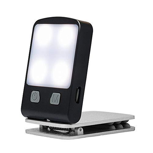 (flashlight taser-Portable Travel Flexible LED Clamp Clip On Reading Book Light Lamp)