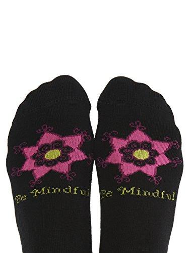 Toe Talk BE Mindful Women's Non Slip Grip Socks