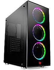CPU PC GAMER I5, 8GB, GTX 1050 TI 4GB, SSD 240GB, GABINETE GAMER 3 FANS RGB, SUPER PROMOÇÃO HERTZ INFORMATICA