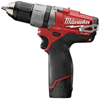Milwaukee Electric Tool 2403-22 M12 Drill/Driver 1/2