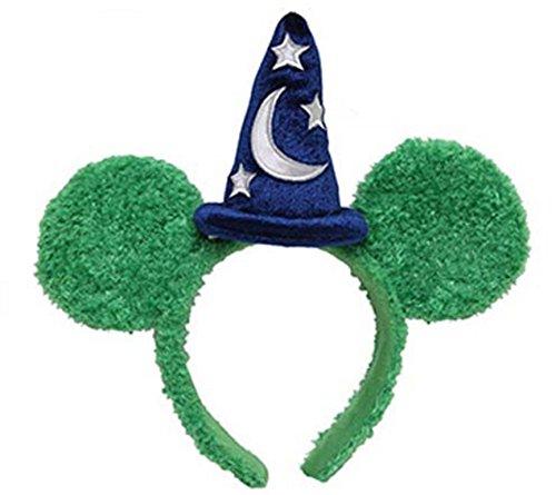 Disney Parks Mickey Ears Topiary Sorcerer Hat Headband