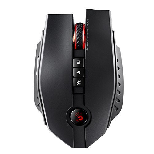 (ZL50 Sniper Edition Laser Wired Gaming Mouse - 11 Programmable Buttons - Light Strike Optical Switches and Wheel - X'Glide Mouse Feet - Adjustable 8200 CPI/DPI - Wired USB Black)