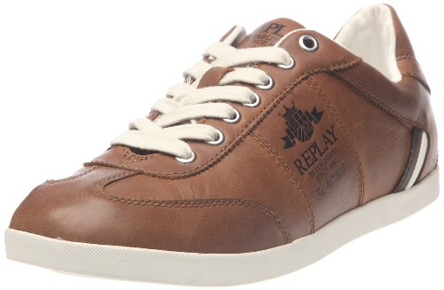 Replay Stean, Herren Sneaker Beige (Camel)