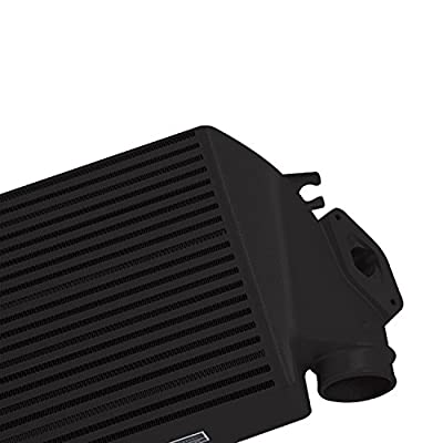 Mishimoto MMTMIC-WRX-08BKBK Top-Mount Intercooler Kit Fits Subaru WRX 2008-2014 Black, Black: Automotive