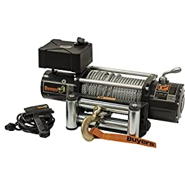 Buyers Products 5579500 Electric Waterprood Winch 9500 lb. Capacity