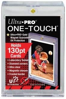 25 Pack 130pt Ultra Pro One Touch Magnetic Card Protector