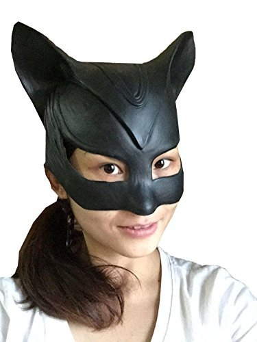 DylunSky Halloween Cat Latex Mask]()