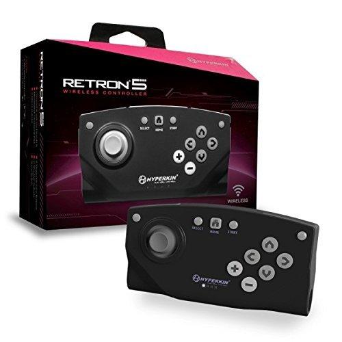 Hyperkin RetroN 5 Bluetooth Wireless Controller (Black)