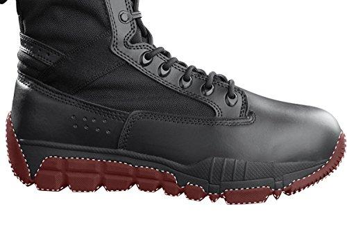 Gratis Soldat Menns Utendørs Ultralette Pustende Militære Ørken Støvler Taktisk Pliktarbeid Boot Sort