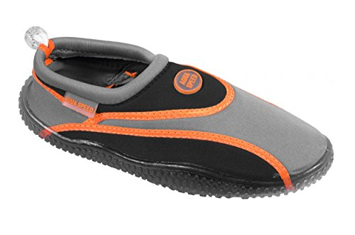 Aqua-scarpe Aqua-speed® 1a (35-45 Profilo Unisex Suola Piscina Per Immersione Piscina Kayak Da Bagno)