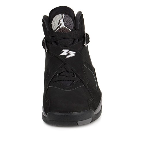 new styles 0e31c fb937 Nike Jordan Men s Air Jordan 8 Retro Black White Lt Graphite - Import It All