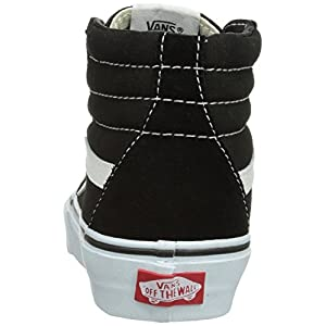 Vans Unisex SK8-Hi(tm) Core Classics Black/White Sneaker Men's 5, Women's 6.5 Medium