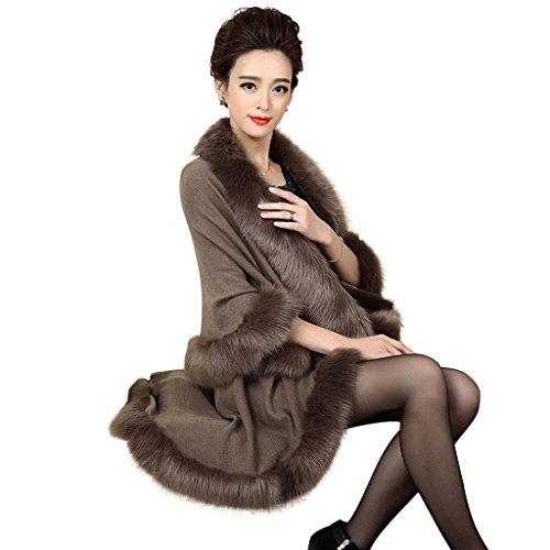 pinkmerry-womens-faux-fox-fur-wool-blend-cloak-coat-winter-shawl-cape