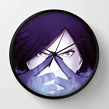 Madara Uchiha Naruto Anime Obito Tobi Akatsuki Madara Black Frame 10 Inch Wall Decoration Wall Clock