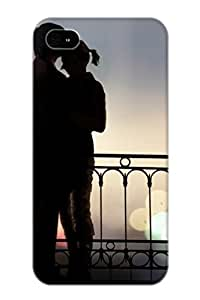 Nice Iphone 4/4s Case Bumper Tpu Skin Cove Rwith Love Relationship Design For Thanksgiving Day Gift