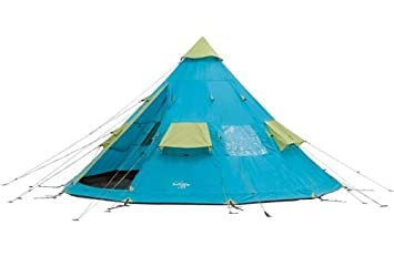 Regatta 4 Man Festival TeePee Tent.  sc 1 st  Amazon UK & Regatta 4 Man Festival TeePee Tent.: Amazon.co.uk: Sports u0026 Outdoors