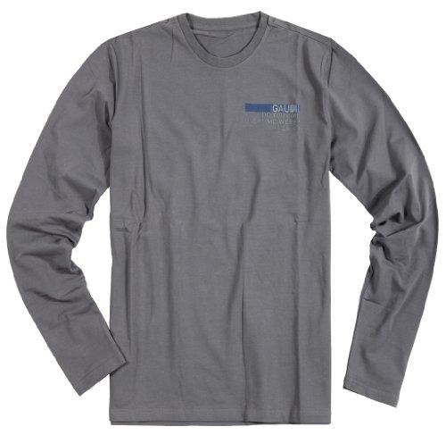 Gaudi Herren T-Shirt langarm Taupe GAU-HS039
