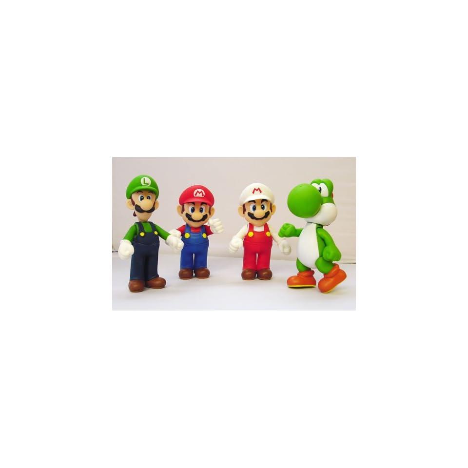 Super Mario Bros. Figure Set of 4 (4.5)