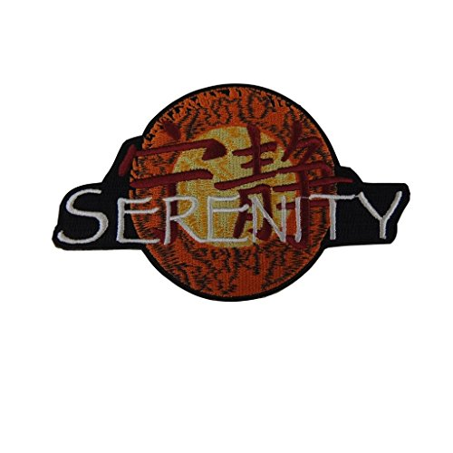 Firefly Series Serenity Episode Logo Embroidered Patch Decorative Applique]()
