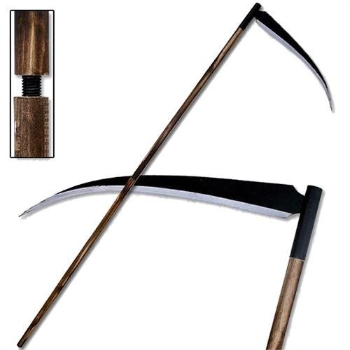 Armory Replicas Grim Reaper Death Monster Costume Scythe 80 Inches Stainless Steel Blade