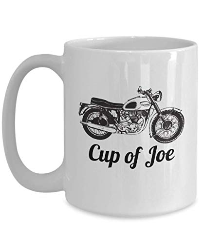 Cup of Joe Personalized Annabel Triumph Bonneville Coffee or Tea Cup Great Gift for Motorcycle Lover, Motorbike Gift Idea