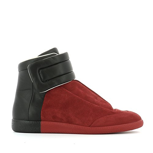 maison-margiela-mens-s37ws0273sy0106963-black-red-suede-hi-top-sneakers