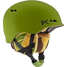 Burton Youth Anon Burner Helmet, Camo Green, Small/Medium