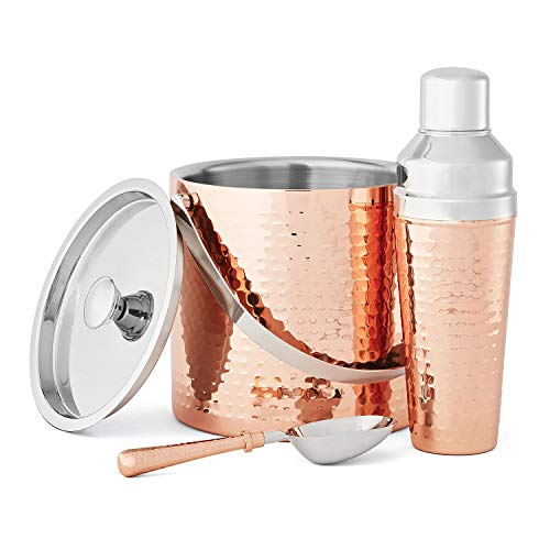 - Member's Mark 3-Piece Barware Set, Copper