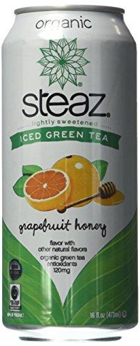 reen Tea, Lightly Sweetened Grapefruit Honey, 16 Ounce (Pack of 12) (Green Tea Organic Honey)